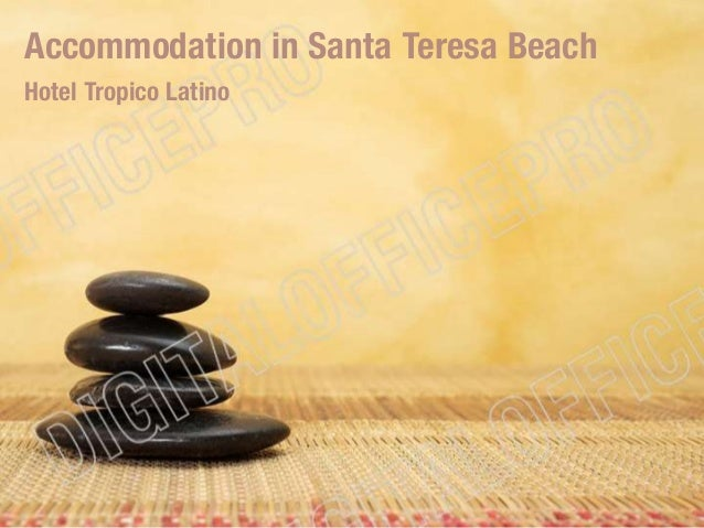 Accommodation in Santa Teresa Beach Hotel Tropico Latino