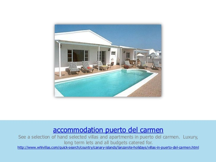 accommodation puerto del carmenSee a selection of hand selected villas and apartments in puerto del carmen. Luxury,       ...