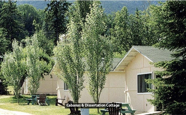Cabanas & Dissertation Cottage