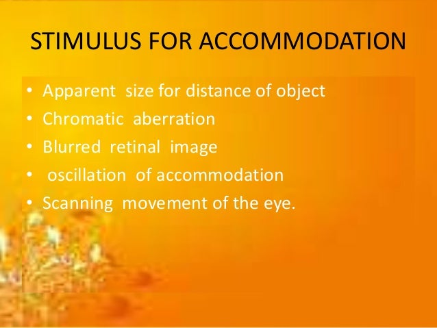 TERMS  Far point of accommodation  It is the farthest point at which object can be seen clearly with minimum accommodati...