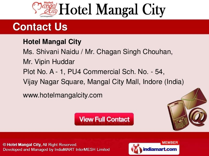 Mangal City Hotel Indore