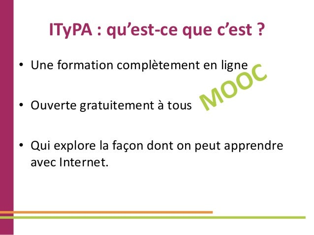 Accompagnement Itypa - présentation Slide 2