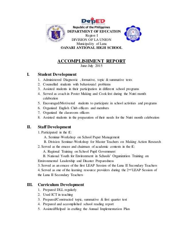 Pta Meeting Report