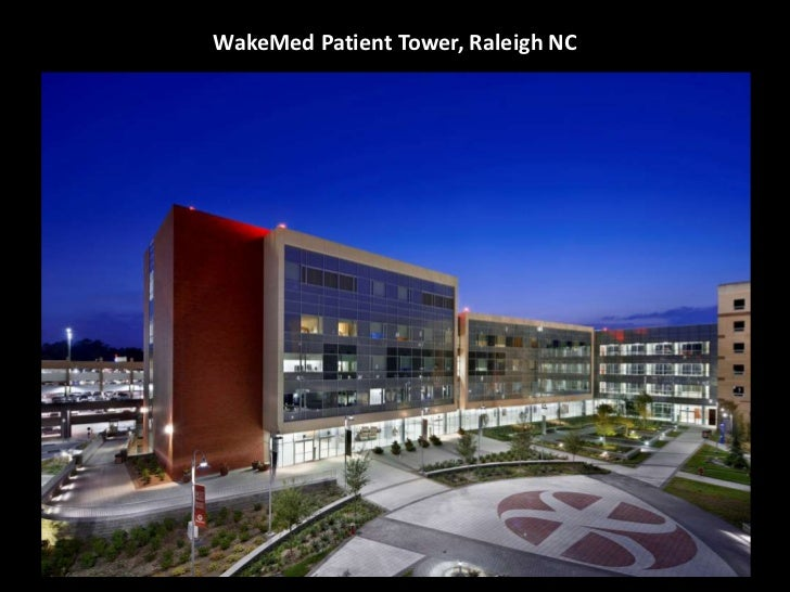 WakeMed Patient Tower, Raleigh NC