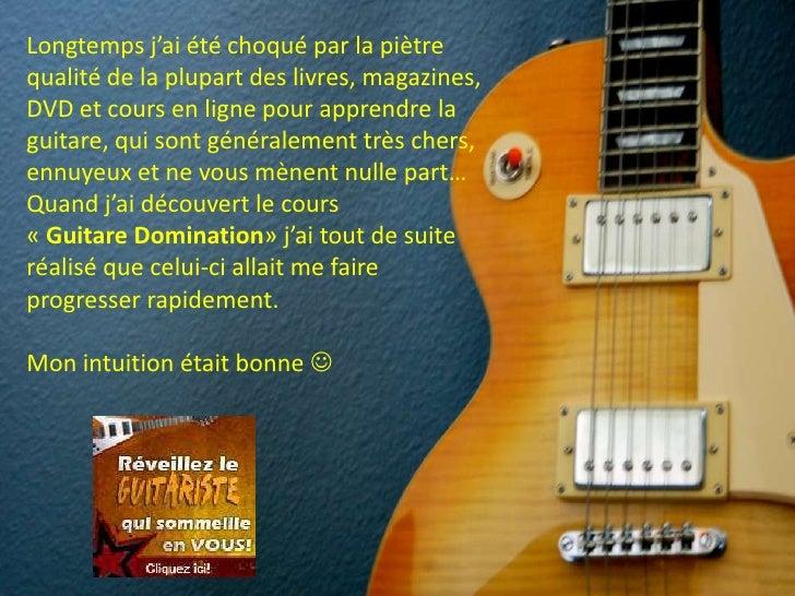 Accord de guitare Slide 2