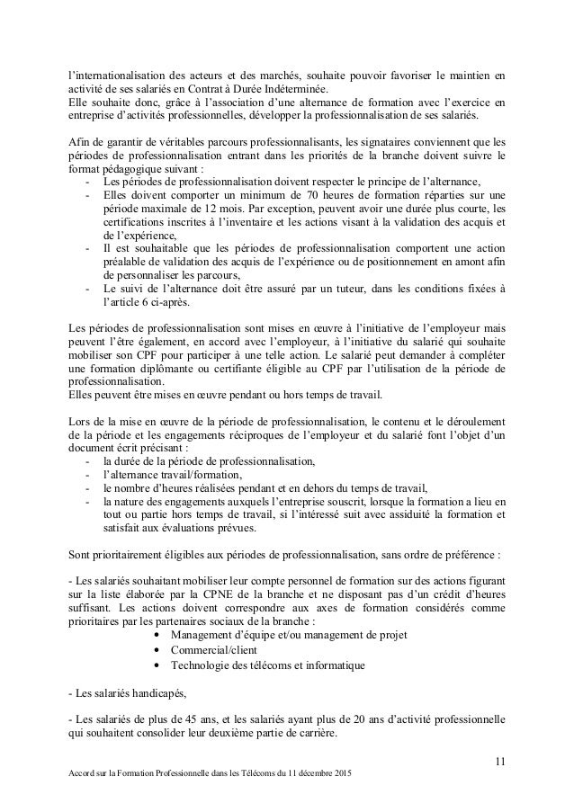 Idcc 2148 accord formation - Grille salaire contrat de professionnalisation ...