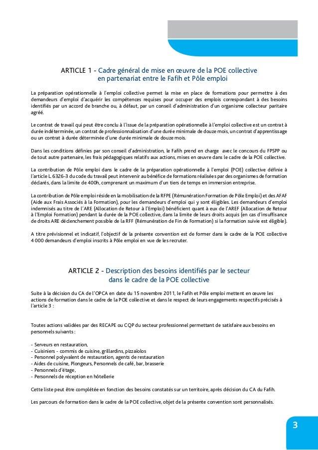 convention de stage pole emploi pdf