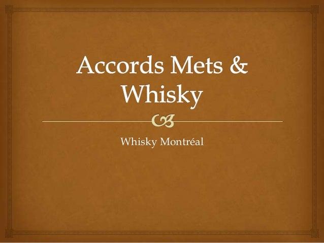 Whisky Montréal