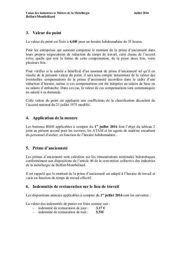 Idcc 2755 Accord Salaires Bm 2016