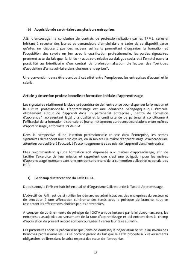 Idcc 1979 accord sur les objectifs priorit s et moyens de - Grille salaire contrat de professionnalisation ...