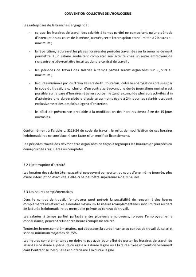 Idcc 1044 Avenant Relatif A L Amenagement Du Temps De