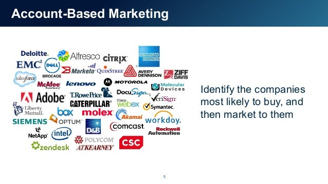 Account-Based Marketing Meets Account-Based Sales