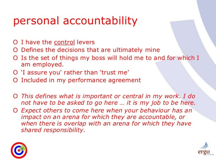 The Circle of Consequences: The Importance of Accountability