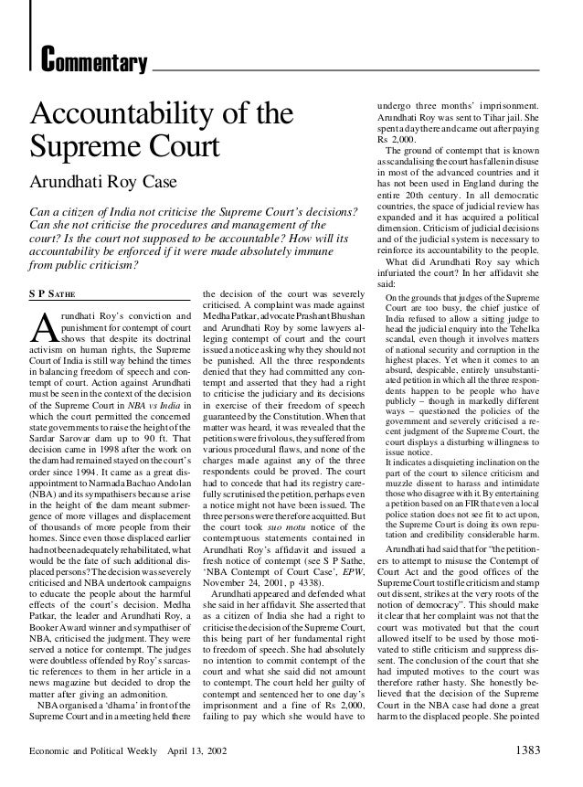 CommentaryAccountability of the                                                                         undergo three mont...