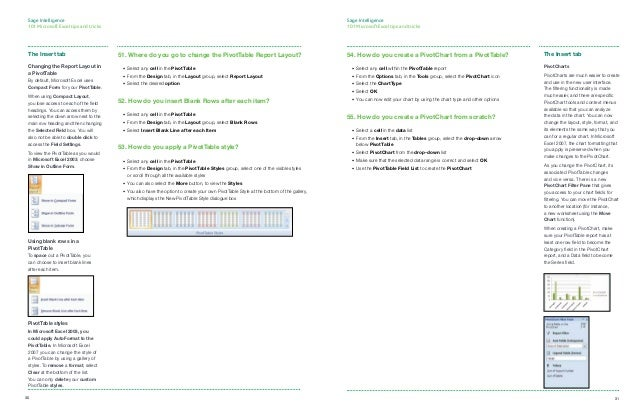 101 excel tips and tricks pdf