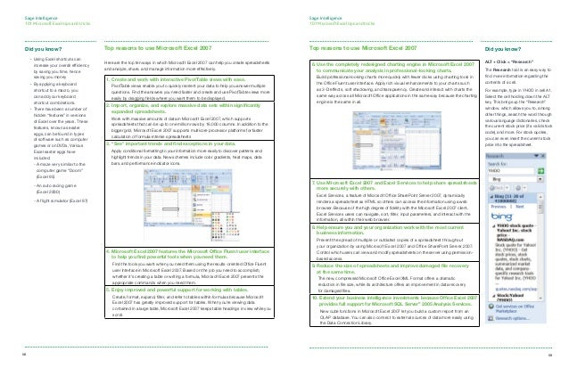 excel tips and tricks pdf