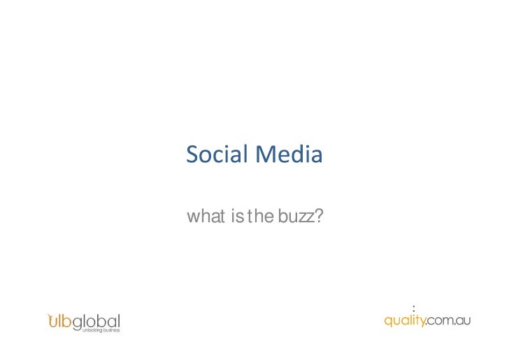 what is the buzz?