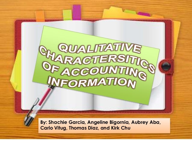 qualitative characteristics In this article, we will briefly go through qualitative vs quantitative observations, including their meanings, examples, and use in science these two types are the.