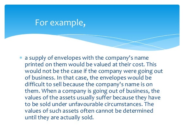 The ten generally accepted accounting principles ( gaap.