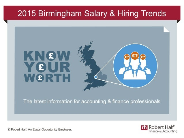 2015 Accounting & finance salary trends in Birmingham