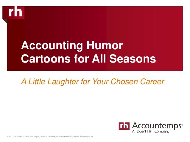 © 2017 Accountemps. A Robert Half Company. An Equal Opportunity Employer M/F/Disability/Veteran. All rights reserved. Acco...