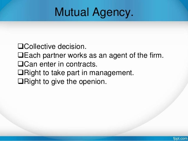 elements of partnership