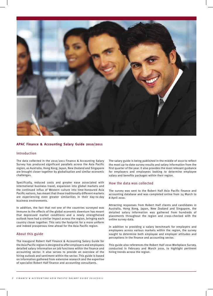 Definitive Big 4 Salary Guide   From Consultant to Partner ...