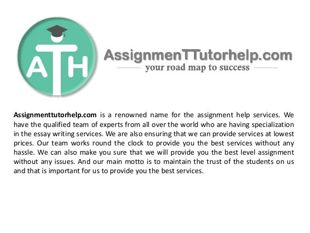 Take College Accounting Homework Help from Online Portals at ...