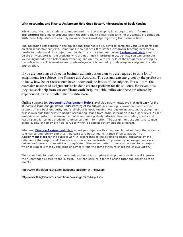 Essayhomework help in accounting