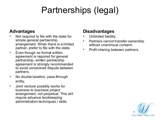 simple partnership agreement