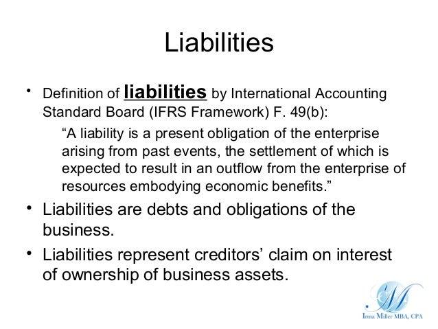 Liability Definition