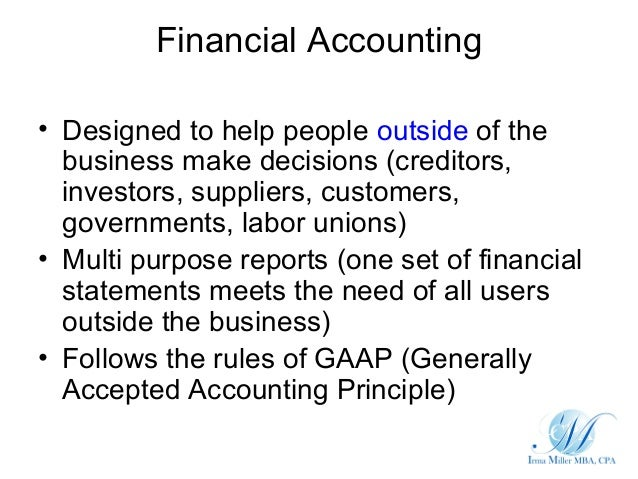 Accounting Entity Definition