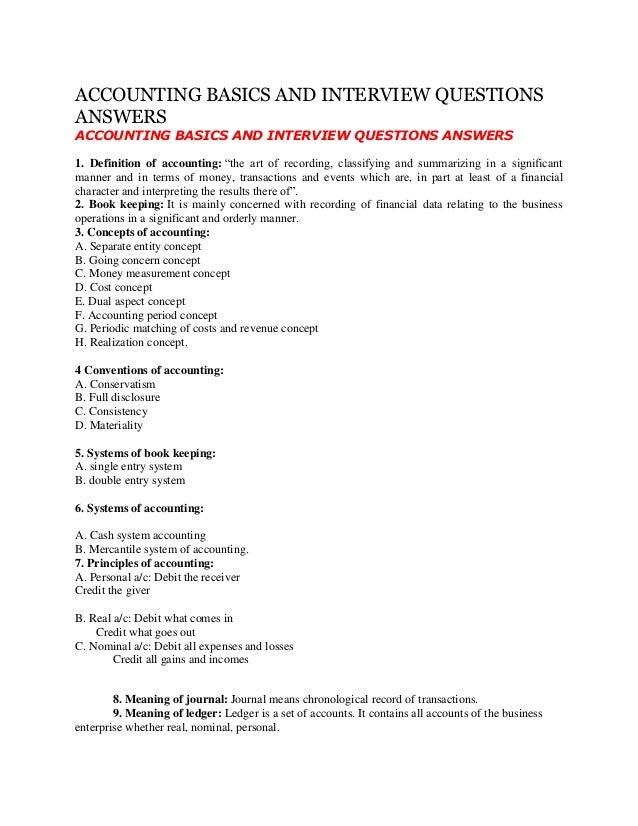 Basic Accounts Book