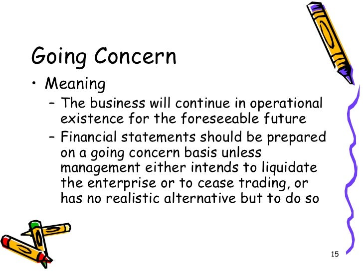 going concern essay What factors does management identify as casting substantial doubt on six flags' ability to continue as a going concern what happens if six flags essays 2017.