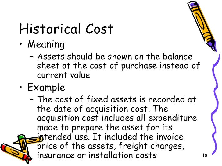 advantages and disadvantages of historical cost accounting pdf