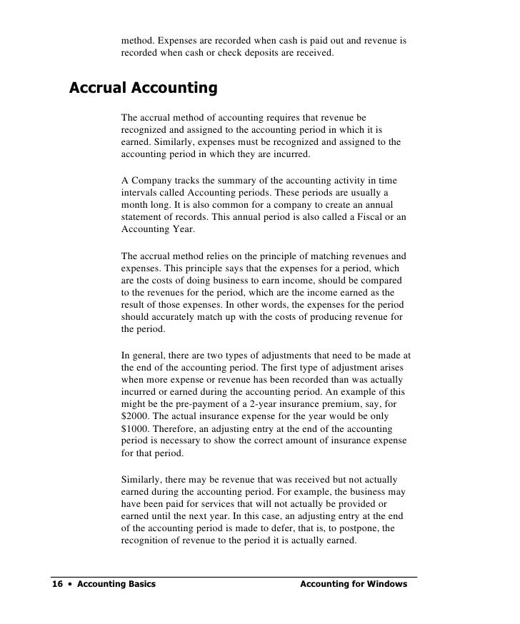 checkpoint accrual method Accounting periods and methods use the cash method of accounting even if the taxpayer would otherwise be required to use the accrual method of accounting due.