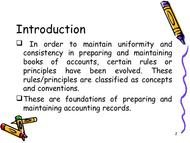 Accounting Concepts and Conventions – Finance Notes – MBA/BBA