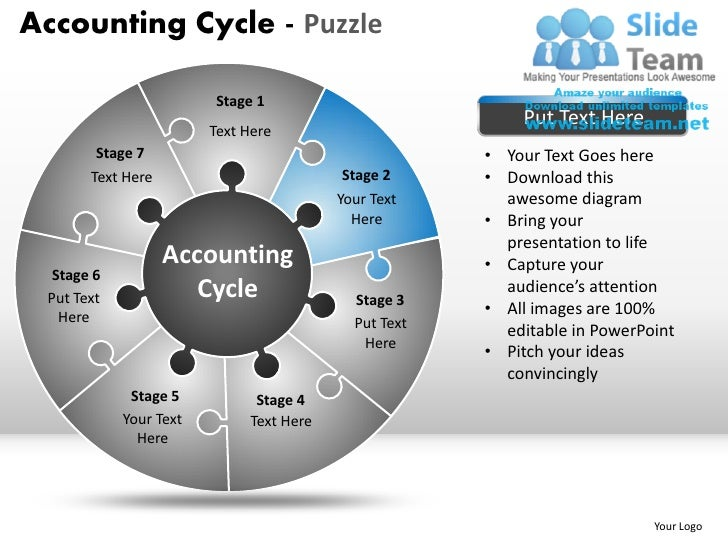 Accounting ppt templates vatozozdevelopment accounting cycle puzzle ppt templates toneelgroepblik Images
