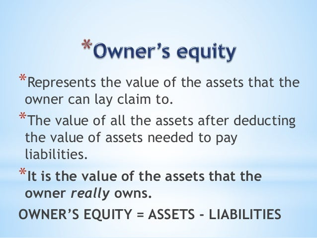 how to find net increase in owners equity