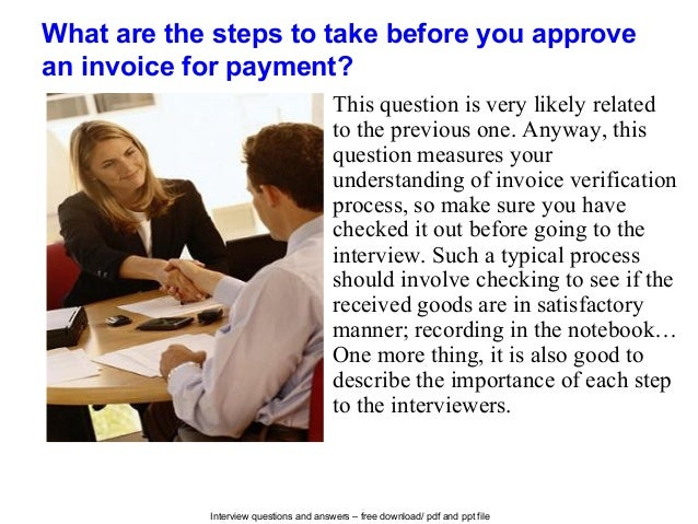 Accounting executive interview questions
