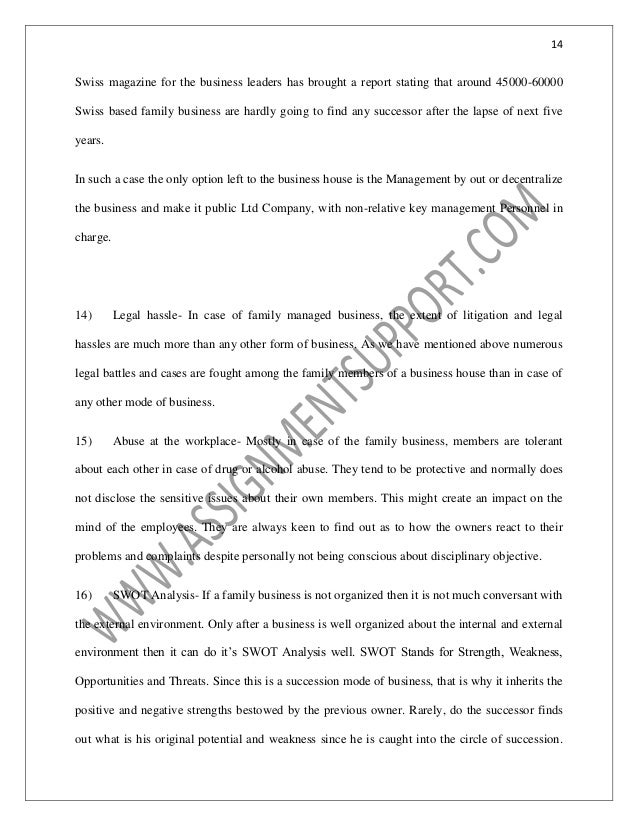 accounting family business essay sample from assignmentsupportcom es swiss style the