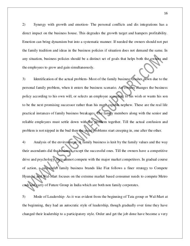 The Yellow Wallpaper Character Analysis Essay  Examples Of A Thesis Statement In An Essay also Essay Writing On Newspaper Accounting Family Business Essay Sample From Assignmentsupportcom Es Healthy Living Essay