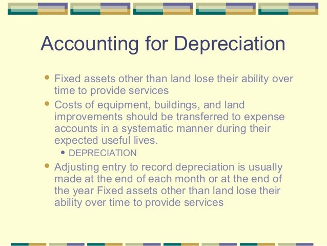 accounting questions depreciation essay What are some interesting accounting topics for an essay update this topic is based around a question in the alternative methods of accounting for depreciation.