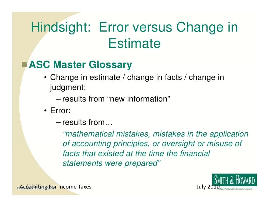 theory of accounting error Robson corporation shows two comparative years, 2011 and 2012, on its statement of retained earnings the following shows how to reflect the adjusting journal entries.