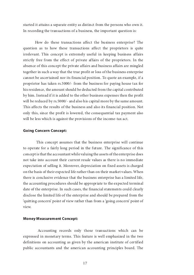 accounting postulates Financial accounting theory & analysis: text and cases test bank, chapter 2 page 3 6 who was the author of accounting research study no 1, the basic postulates of.