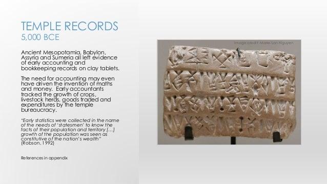 Accounting Through History