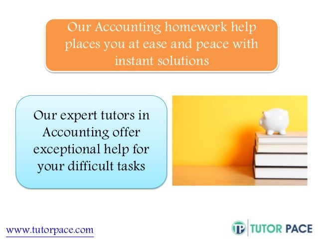 Accounting 2 homework help
