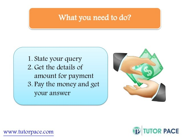 What you need to do?  1. State your query  2. Get the details of  amount for payment  3. Pay the money and get  your answe...