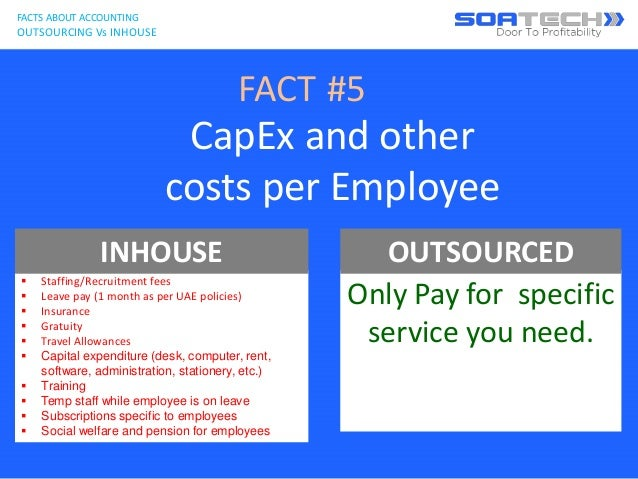 in house accounting vs outsourced accounting Unless you offer accounting services, a highly-qualified, in-house accountant can  be incredibly expensive if you're bootstrapping for your.
