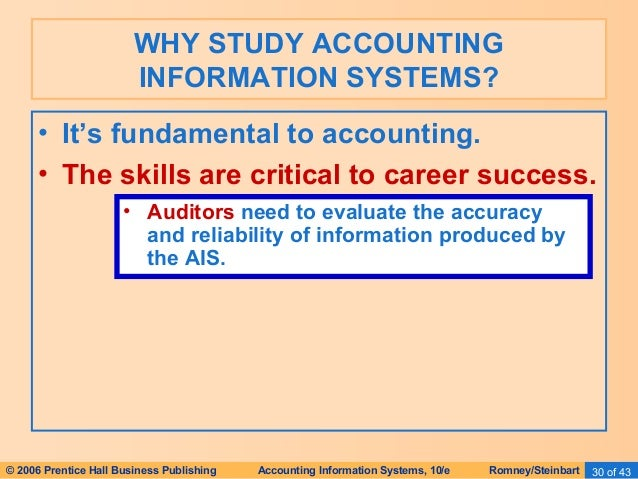accounting information systems in the fast Accounting information systems (ais) is a discipline that informs theory and practice in accounting and auditing, in a way that draws upon information systems, broadly defined in so doing, ais employs theory and practice from the cognate disciplines of mis and computer science as well as from accounting, auditing, other.